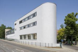 m- & Neubau des Firmengebäudes der Firma Li-il Essenzen Dresden