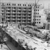 Wohnungsbau in den 70er Jahren in Bautzen (Stadtteil Gesundbrunnen)