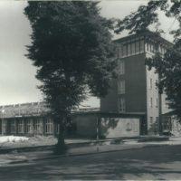 Das Firmengebäude der OBAG Hochbau GmbH in den 70er Jahren