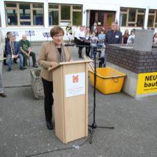 feierliche Grundsteinlegung am Neubau des Evangelisches Zinzendorf-Gymnasium 03