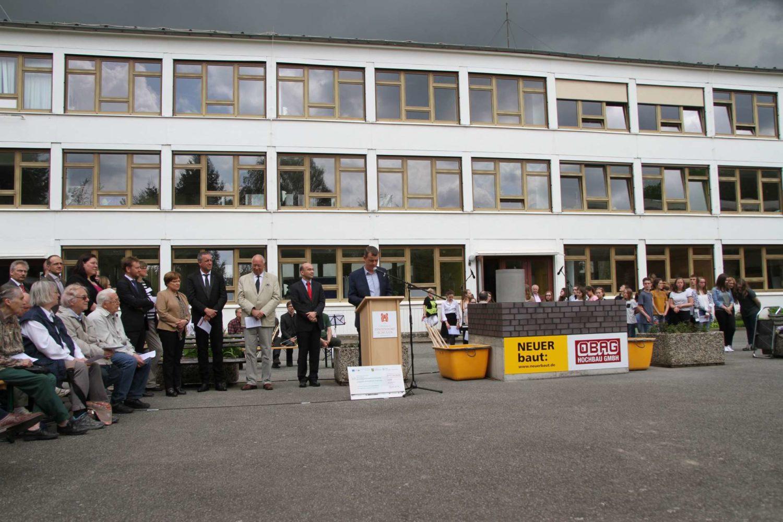 Feierliche Grundsteinlegung am Evangelischen Zinzendorf-Gymnasium