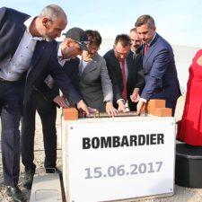 Grundsteinlegung bei Bombardier in Bautzen