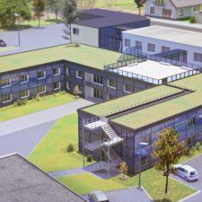 Baubeginn Bürogebäude Cheplapharm