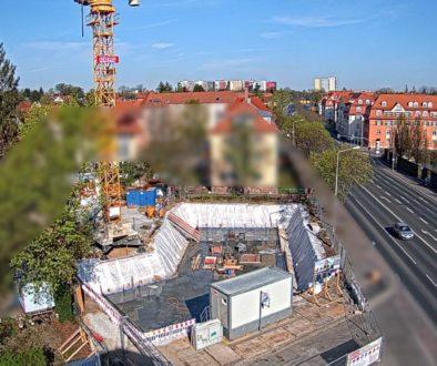 Baubeginn am Mehrfamilienhaus in Dresden