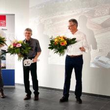 Schlüsselübergabe an scia Systems GmbH